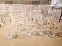 Champagne Glasses, Set of 12 Mississauga, L4X 1X7
