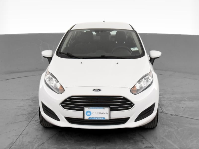 2017 Ford Fiesta sedan S Sedan 4D White <br /> 16