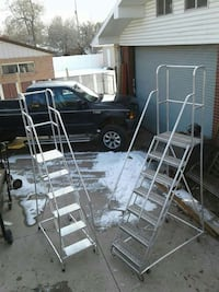 Aluminium rolling ladders West Valley City, 84119