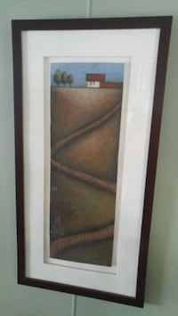 white and brown wooden framed glass display cabine Abbotsford, V2T 4G6