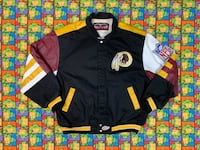 Vintage Jeff Hamilton Washington Redskins Jacket Sterling, 20164