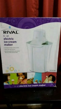 Rival 6-quart electric ice cream maker Cincinnati, 45245