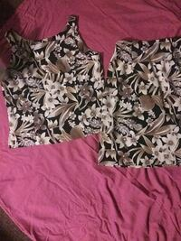 Blouse and skirt size 12