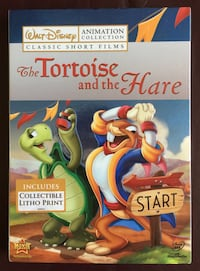 Collectible: Disney's The Tortoise and the Hare with Sleeve and Collectible Litho Print - BRAND NEW SEALED. Stockton, 95209