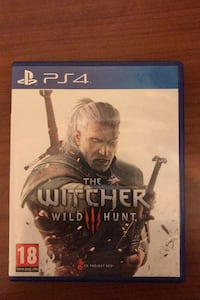 Playstation 4 The Witcher WILD HUNT