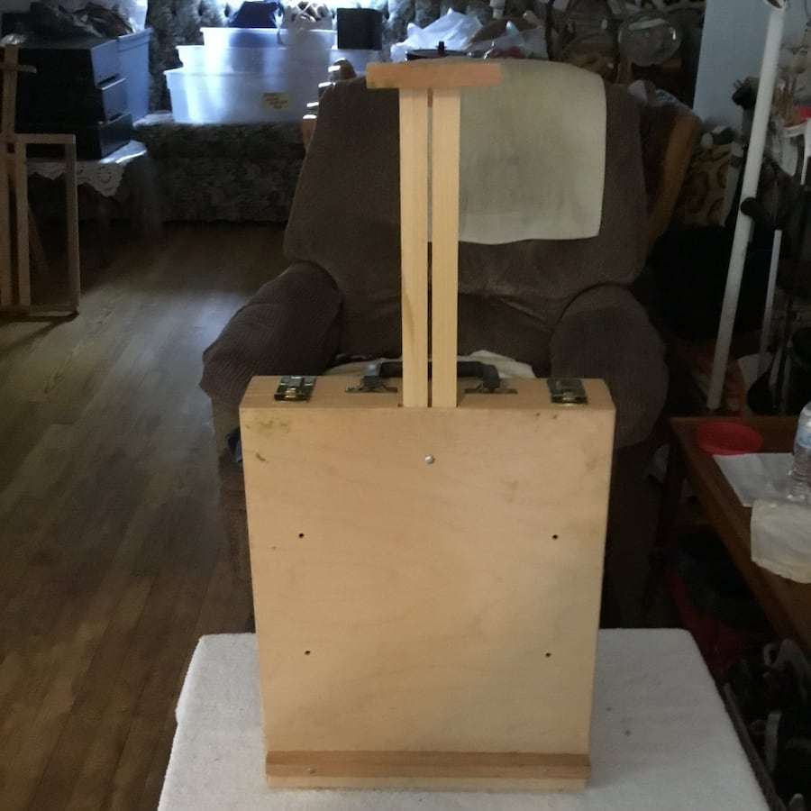 Artist easel and carrying case