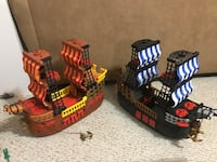 Pirate ship. Selling two, $5 each. Will sell separately or together. Laurel, 20724