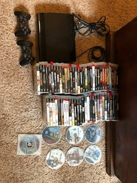 PS3 console and 67 games  Hanover, 21076