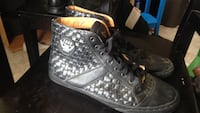 pair of black Converse All Star high-top sneakers Leona Valley, 93551