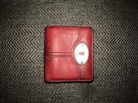 Fossil brand Red leather bi-fold wallet Buena Park, 90620