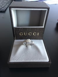 White gold gucci ring with diamonds Port Moody, V3H