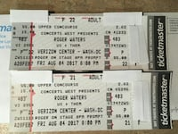Roger waters tickets Middletown, 21769