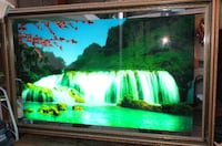 Electronic Waterfall Picture with sound Maple Ridge