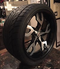 A set of 4 Forgiato Rims with low profile Nitto Tire's  New York, 10306