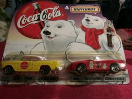 Matchbox Coca Cola Dad and Sons Cars