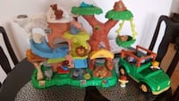 Fisher Price Little People ZOO with Jeep car Toronto, M9A 4M6