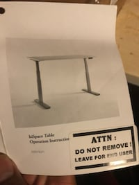 Brand new Teknion Sit Stand table Kitchener, N2E