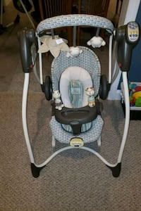 Graco baby swing and bouncer good condition.