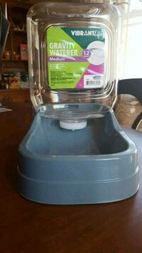 Gravity waterer 1.2 gallon for dog or cat Jackson Township, 08527