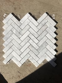 2x6 grey/white polished mosaic  Oakville
