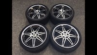 """20"""" staggered rims 5x114.3"""