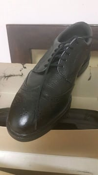 pair of black leather dress shoes Surrey, V4N 1W4