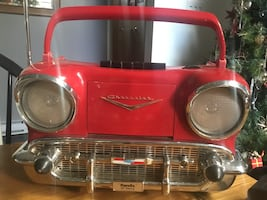 Vintage Chevy cassette player