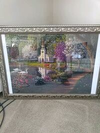 Puzzle in very lightweight frame