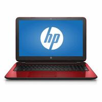 black and red HP laptop ALSIP