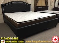 Solid Wood Bed Frame Factory Outlet  Hamilton, L8S 1N8