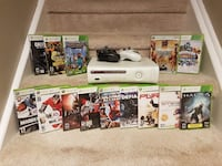 Microsoft Xbox 360 Bundle 14 Games 2 Controllers All Cables! Whitby