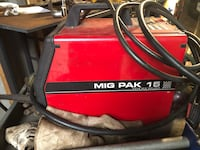 Lincoln Electric MiG Pak 15 Hampstead, 28443