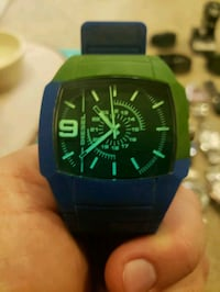 black and green analog watch Tucson, 85705