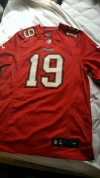 red and white NFL jersey Los Angeles, 90011
