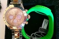 Toy watch gold