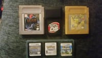 Gameboy and ds games pokemon batman and mario  St. Catharines, L2T 2T6