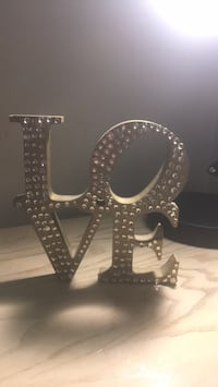 """Love"" desk decor- need gone ASAP or throwing away Sudbury, P3A 2P8"