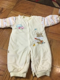 baby's white and pink footie pajama Silver Spring, 20910