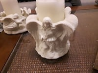 Trio of Angels Pillar Candle Holder Bowmanville, L1C 4Y9