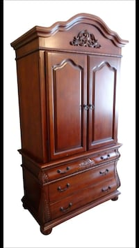 Traditional Coaster Bombay Style Armoire Simi Valley