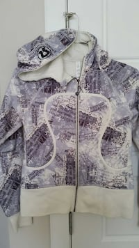 NEW Lululemon Cream/Print Hoodie/jacket Calgary, T3J 0H5