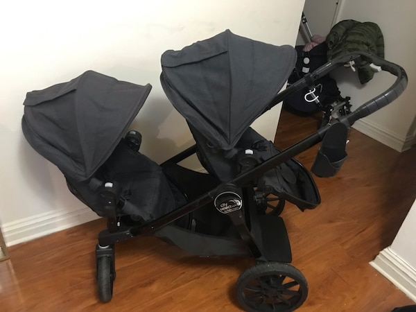 Baby Jogger City Select Lux Double Stroller With Accessories