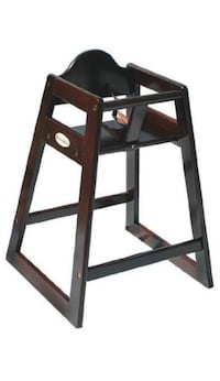 Foundations Classic Wood Hardwood High Chair in Antique Cherry Toronto, M3K 1H5