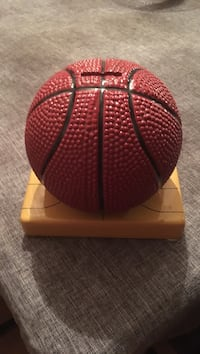 Red basketball piggy bank Surrey, V3W 2M4