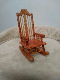 Wooden doll house rocking chair Pennsdale, 17756