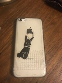 Space gray iphone 5s with case Springwater, L0L