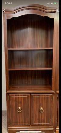 Brown wooden cabinet with shelf Vienna, 22182