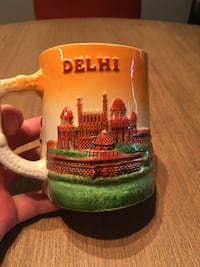Handcrafted Coffee Mug From New Delhi, India (NEVER USED) Arlington, 22201