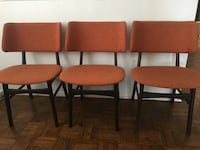 3 mid century style chairs Los Angeles, 91367