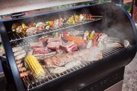Wood pellet grill and smoker 700 sq inch 15 km